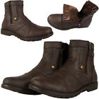 Mens New Fur Lined Brown Combat Army Warm Military Winter Ankle Boots Shoes Size