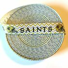 "7/8"" New Orleans Saints Chevron Grosgrain Ribbon by the Yard (USA SELLER!) $0.99 USD on eBay"