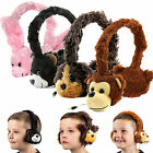 Kids Fluffy Animal 3.5mm Fun Headphones for Leapfrog LeapPad Ultra / Ultra XDI