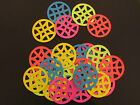 Geometric Circle Cardstock Diecuts,Embellishments,Choice of Colours,Paper Crafts