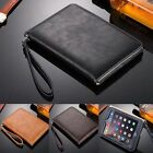Luxury Leather Smart Case Cover Stand Hand Strap for Apple iPad 2/3/4/mini/Air