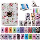 360 Rotating Smart Wake Sleep Stand Flip Case Leather Cover For Apple iPad Air 2