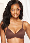 WACOAL 852189 HOW PERFECT Wire-Free T-Shirt Bra 32C Brown NWT $60