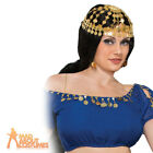 Arabian Headpiece Desert Princess Bollywood Fancy Dress Accessory New