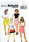 BUTTERICK SEWING PATTERN SKIRT & SASH MISSES' SIZE 6-12 or 14-22 # B5613