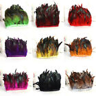 Внешний вид - Hackle Rooster Feather Fringe trim 1 to 10 yard Craft /Sewing/Costume 10-15cm