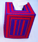 Red Hat Ladies - Red & Purple Tissue Box Cover