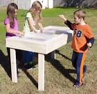 NEW CHILD'S WOOD SAND BOX / WATER SENSORY PLAY TABLE - 59...