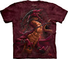The Mountain Unchained Dragon Kids T-Shirt - 100% Cotton Short Sleeve Red