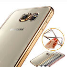 Shockproof Silicone Rubber Clear Case Cover For Samsung Galaxy S6 S6/S7 Edge+ US