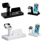 For iPhone 5c 5s 6 s plus Apple Watch Dock Docking Charger Stand Cradle Station