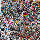 wholesa 100pcs/lot Interchangeable glass Buttons Jewelry Snap Charms chunk Snap