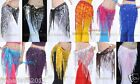 Brand New Sequins Belly Dance Hip Scarf Belt 12 Colors Available Free Shipping