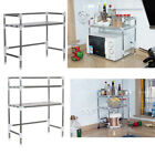 Внешний вид - Stainless Steel Kitchen Microwave Stand Oven Shelf Spice Storage Bakers Rack NEW