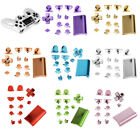 Shinny Chrome Plating Full Replacement Controller Dipped Shell Mod Kit for PS4