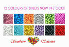SIXLETS PEARLY CANDY COATED CHOC BALLS 750G GLUTEN FREE LOLLIES PICK A COLOUR!