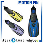 AQUA LUNG SPORT MOTION FINS FLIPPERS x2 SWIMMING DIVING SNORKELLING BY TECHNISUB