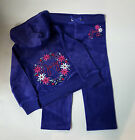 Juicy Couture Girls 2pc Jog Set with Embroidery