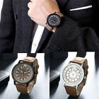 Luxury Men's Fashion Date Sport Analog Stainless Steel Quartz Dial Dress Watch