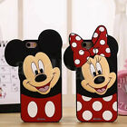 Smile Face Mickey Soft Silicone Back Case Cover for iPhone 5S &6/6S & 6/6S Plus