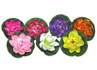 Artificial Lotus Fake False Flower Craft Water Floating Home Garden Spa Decorate