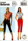 Butterick Pattern B5895 5895 Ladies Rockabilly Top & Jeans Gertie 4-12 12-20