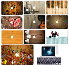 Colorful Wood Print Hard Case Cover For Macbook Air 11 Pro 13 15 Retina 12+KB+SP