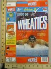 Vintage Wheaties Michael Phelps Swimming Champion Cereal Box 2012 Empty 15.6 OZ