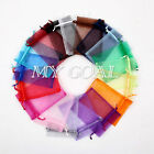 100 Organza Gift Bags Jewellery Festival Packing Pouches Wedding Party Favour
