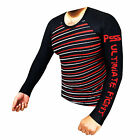 Prime Sports MMA Rash Guard Boxing Running Sweat Shirt Mens Compression Gym Wear