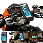 "Guidon Moto Ecrou en U 3"" allongé Support + étui pour Apple iPhone 6 6s 4.7"