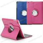 Lovely Cartoon Print Rotating PU Leather Case Stand Cover for Apple iPad Mini
