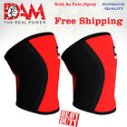 DAM Knee Sleeve Powerlifting Weightlifting Patella Support Brace Protector gym