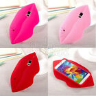 3D Sexy lips Soft Silicone Back Case Cover For Samsung Galaxy S5 i9600