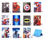 """Spiderman Leather Wallet Stand Holder Case Cover For Samsung Tab 4 T530 10.1"""""""