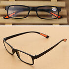 HOT Flexible Reading Glasses Unisex Black Light Folding Eyeglasses Resin 1.0-4.0