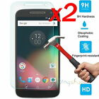 2Pcs 9H+ Premium Tempered Glass Screen Protector For Motorola Moto G4 / G5 Plus