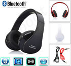 Wireless BT Foldable Stereo Headset Headphone Earphone For iPhone Samsung