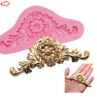 3D Baroque Flower Silicone Fondant Mold Chocolate Cake Decorating Baking Mould