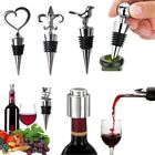 Внешний вид - Stainless Steel Reusable Vacuum Sealed Red Wine Bottle Stopper Plug Favors Gifts