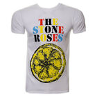 Official T Shirt THE STONE ROSES White LEMON Logo Print Band Tee All Sizes