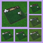 NHL Licensed Golf Hitting Practice Mat Area Rug Floor Turf Carpet - Choose Team