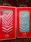 COACH Zebra Print iPhone 5 Case/Cover -#64700B -  Robin