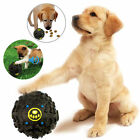 Pet Dog Chew Treat Food Holder Quack Sound Giggle Squeaky Play Training Ball