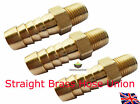 Straight Brass Hose Union 1/8 NPT 6MM,8MM,10MM Facet OIL Fuel PUMP Push On Tail