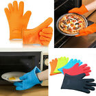 Mitts Gloves Kitchen Tools Baking Microwave Oven Cooking Heat Resistant Silicone