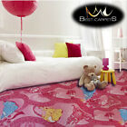 CHILDREN'S CARPET CELEBRATION Pink Disney Bedroom Kids Area girls Rug ANY SIZE