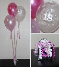 18th Birthday Balloons - DIY Party Decoration Kit Clusters For 5 - 15 Tables