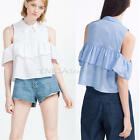 Sexy Women's Short Sleeve Off-shoulder T Shirt Summer Casual Tops Blouse