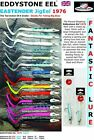 JIG EEL EDDYSTONE EEL 1976  WEIGHTED 25g NEW LURES BRAND NEW DESIGN 14 colours
